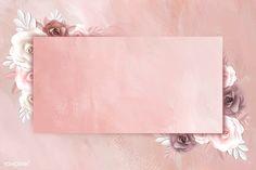 Rectangle paper craft flower frame vector | premium image by rawpixel.com / Techi Wallpaper Doodle, Purple Wallpaper Iphone, Framed Wallpaper, Collage Background, Flower Background Wallpaper, Flower Backgrounds, Fond Design, Wedding Invitation Background, Photo Frame Design