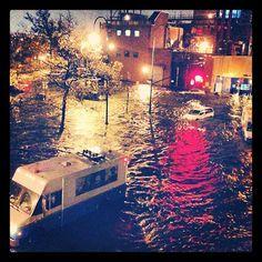 A Submerged Manhattan