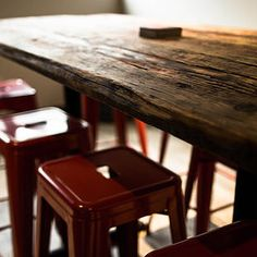 Reclaimed Wood And Salvaged Sewing Machine Legs. Great Table Found At Earth  Wise Salvage In Seattle.   Think Green   Pinterest   Console Tables, ...