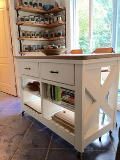 Do it yourself kitchen island rustic x kitchen island done do kitchen island ana white design do it yourself home projects from ana white solutioingenieria