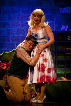 Der kleine Horrorladen | Theaterfotografie Menschen http://www.ks-fotografie.net/