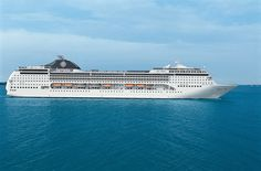 The MSC Opera - currently based out of Southampton!