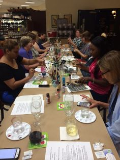 Sip & Dip Your paint brush at Old Line Fine Wine, Spirits & Bistro and paint with us, visit their website for our next class: www.oldlinewine.com