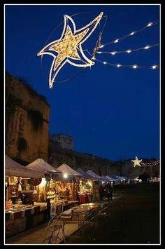Italian Xmas market.