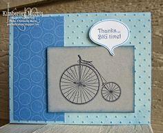 September Workshop: Timeless Talk Bike Card
