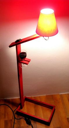 pallet lamp crafts