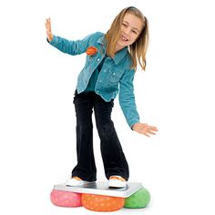 Walking on Air - SPD vestibular activity Gross Motor Activities, Gross Motor Skills, Sensory Activities, Therapy Activities, Movement Activities, Indoor Activities, Science For Kids, Games For Kids, Activities For Kids
