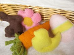 Easter Themed Stuffed Catnip Cat Toys by MissStitchinWitch