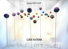 LUISA VIA ROMA'S windows http://www.luisaviaroma.com/