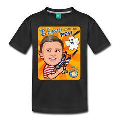 9a3dabec6121 FGTEEV (No Background Logo) Kids Premium T-Shirt   Kids' Premium T ...
