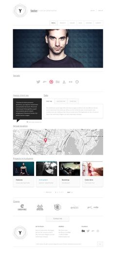 Ypsilon Design Template on Web Design Served