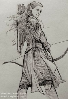 Wow, awesome drawing! ~ Legolas
