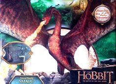 Bridge Direct The Hobbit The Battle of Five Armies Deluxe Poseable Figure Smaug Dragon With Bard The Bowman | Flickr - Photo Sharing!