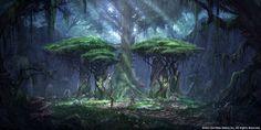 Bosmer Treehenge