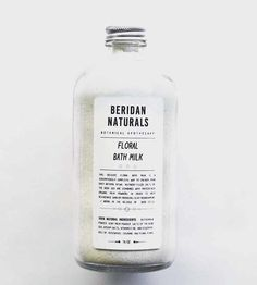 Floral Bath Milk by Beridan Naturals on Scoutmob Shoppe