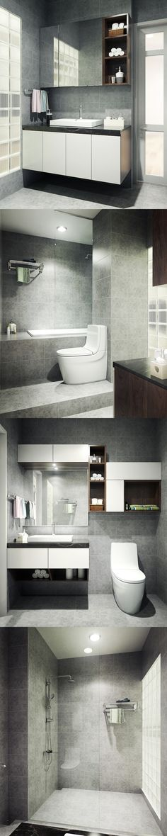 bathroom_vray sketchup_photoshop