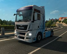 MAN TGX Euro6 Mod for ETS2 created byMADster. UsedSCS Software & Giants Software to created this truck mod.