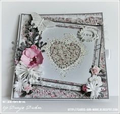 Dunja Dückerstieg   Cards and More   With love for detail ❤: ♥ ° ° ° ♥ Stempelglede Design Call 2014 °