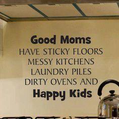 Good moms, happy kids 😊
