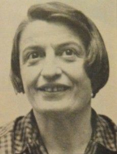 Ayn Rand photographed while Atlas Shrugged was nearing its publication date. (Photographer: Bob Sleppy)