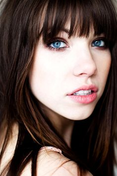 I hope I marry someone with blue eyes; so my daughter can have blue eyes with brunette hair. Absolutely breathtaking~