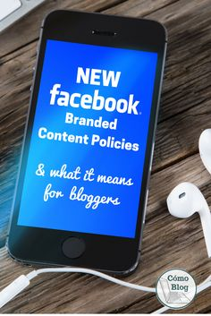Facebook branded content has a new policy: ONLY verified pages are now allowed to post anything for a 3rd party. Find out what this means for you here!
