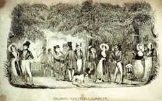 "Lambeth Landmark images, Pierce Egan's ""Pilgrims at Vauxhall Gardens,"" showing promenaders along the Grand Walk, supper boxes in teh background. Historical Romance, Historical Fiction, Somewhere In Time, London Architecture, London History, London Pictures, Famous Places, Old London, London Life"
