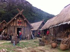 Viking Village | SCA .:viking living:. | Pinterest