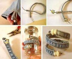crafts-jeans-seams-bracelets