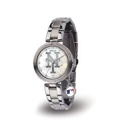 New York Mets MLB Charm Series Women's Watch