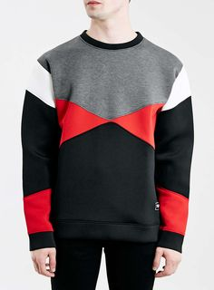 Jaded Black Neoprene Sweatshirt*