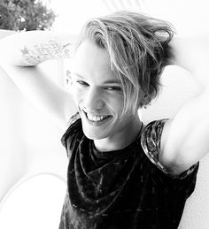 Jamie Campbell Bower - I want to marry him.