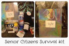 Senior Citizens Survival Kit Birthday