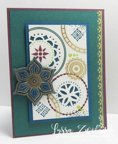 Eastern Palace Stampin Up new catalog preorder big shot colors Lyssa song my heart