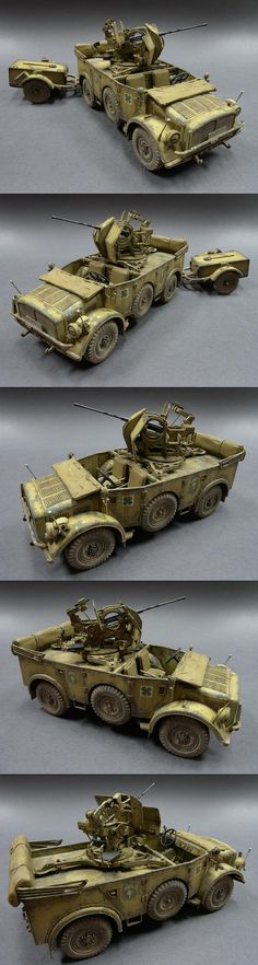 Military Diorama, Military Art, North African Campaign, Armoured Personnel Carrier, Afrika Korps, Model Tanks, Model Hobbies, Armored Fighting Vehicle, Military Modelling