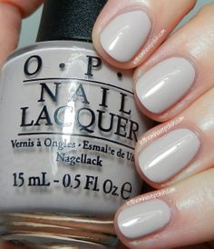 O.P.I Taupe-less Beach- Also from the Brazil collection. This shade is a wonderful, light Taupe creme with a slight hint of Pink...