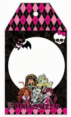monster high halloween special free printable kit