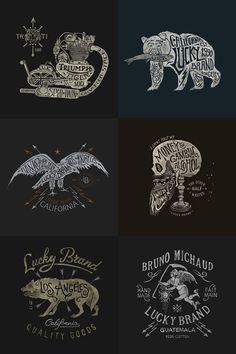 Lucky Brand by BMD ..., via Behance
