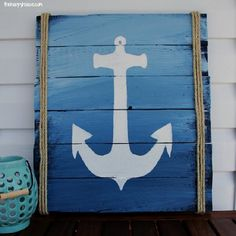 So, now you can be able to create a diy wood pallet anchor signs for your home areas at your home with the help of these wooden pallet ideas that are here we share with you in this project so, you can make a pallet wood signs for your home to sign up your home's outdoor and indoor areas as many of peoples fond of this thing that this thing is also in our home, we can also make our home so beautiful and lovely and now you very easily make it at home.