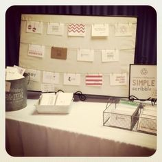 board with ribbon tied around to hang things