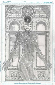 Catwoman - Scott Clark