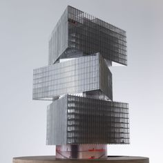 ARCHITECTURAL MODELS / RAI NHow Hotel OMA Amsterdam The Netherlands 2017 proposal hotel urban architecture