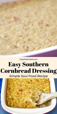 Southern Thanksgiving Recipes, Fall Soup Recipes, Stuffing Recipes, Southern Recipes, Holiday Recipes, Thanksgiving Ideas, Thanksgiving Dressing Recipe, Crockpot Stuffing, Cornbread Recipes