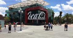 Loja da Coca-Cola no Disney Springs em Orlando #viagem #miami #orlando
