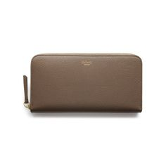 5fa6e941d074 Mulberry Continental Wallet in Clay Small Classic Grain Outlet Uk
