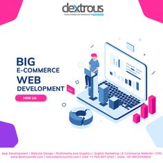 Looking for top notch and futuristic e-commerce solutions for your business? Dextrous is an expert ecommerce website development and design company in India providing online store development services to enterprises and SMEs that ensure a major increase in your conversion rates and online visibility. Contact us today for a free quote! Web Development Agency, Digital Marketing Services, Futuristic, Ecommerce, Web Design, Quote, India, App, Website