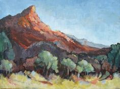 Janet DIXON - Red stone hills