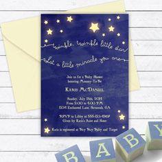 Twinkle Twinkle Little Star Baby Shower by EnchantedDesigns4U