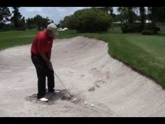 Improve your sand shots with these tips! #golf #golfing