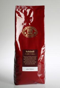 Schümli Caffe Créme - 85% Arabica, 15% Robusta, 1000g - Der absolute Liebling!